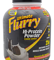 "פלורי אבקת חלבון 2.3 ק""ג –  Ultimate Flurry Hi-Protein Powder"